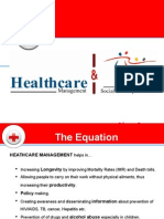 Healthcare Management & Social Development .Ppt