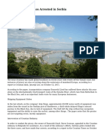 Danube River Pirates Arrested in Serbia