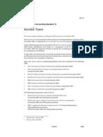 International Accounting Standard 12