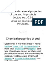 EPPT-Physical and Chemical Properties of Coal and Its Products