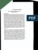 Semantic Integration of Mimetics