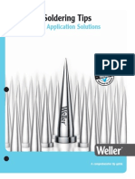 Weller Soldering Tips Brochure