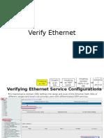 Verify Ethernet