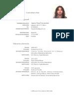 CV Jaime Díaz Fernández