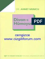 Ahmet Mumcu - Divan-ı Hümayun