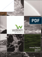 Wateen Annual Reports 2010 11