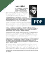 Biografia Del Papa Juan Pablo II