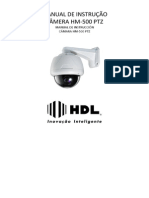 Manual PTZ HM-500
