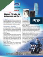 AMSOIL Motorcycle Oil & Air Filters