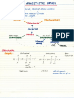 Isomerism and Anaesthetic Drugs