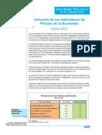 Informe Tecnico n02 Precios Ene2015