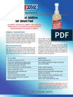 Cetane diesel fuel additive