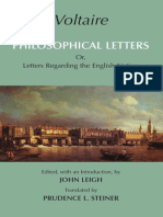 Voltaire - Philosophical Letters (Hackett, 2007)