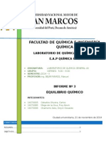 Informe 03 Quimica General AII