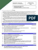 Inglés 6 - Examen y Criterios de Corrección