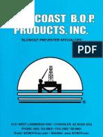 Catalogo BOP West Coast