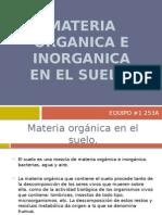 Materia Organica e Inorganica en El Suelo Hf76rf