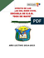 Proyecto Escuela 2 de Mayo 2015
