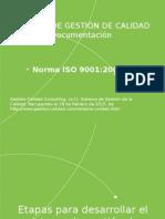 Documentación Sistemas de GC