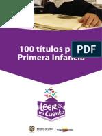 100 Titulos Para Primera Infancia