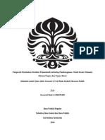 Pengaruh Perubahan Struktur Pemerintah Terhadap Pembangunan