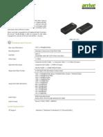 Arrive HDCAP-1010 Spec v003