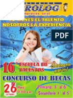 Bases Talentos 2014