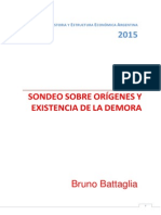 Etapa de la Demora. Argentina
