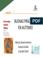 Marcos Zamora- Buenas Practicas en Autismo