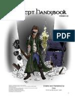 Shadowrun Sourcebook - Adept Handybook (Unofficial)