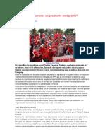 Paraguay no queremos un presidente vendepatria