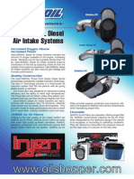 INJEN/AMSOIL Diesel Air Intake Systems - sold at www.oilshopper.com