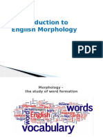 Introduction to English Morphology