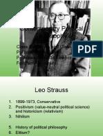 Contemp 8. Leo Strauss - Classical
