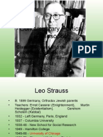 Contemp 7. Leo Strauss - Problems