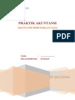 Praktik Akuntansi Perusahaan Jasa