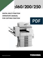 E-STUDIO 200 Manual