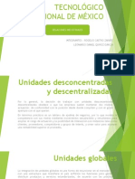 Unidades desconcentradas y descentralizadas