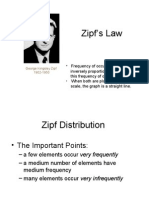 Zipf law Indonesia