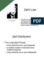 Zipf law Indonesia