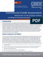 Commercial Credit Risk Assessment