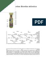 Componentes Bomba Atómica