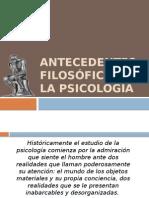 2.- Antecedentes filosoficos