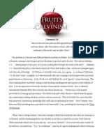 Fruits of Calvinism