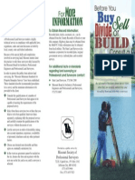 Missouri - Land Survey Brocure