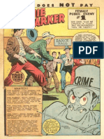Bonnie Parker, Crime Does Not Pay Comic Book 1947