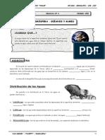 Guía Nº 6 - Hidrósfera I - Océanos y Mares