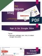 Google Document - Penyisipan Imej