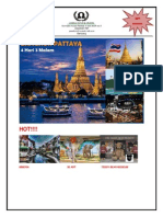 Bangkok Pattaya 4D3N December