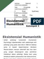 Eksistensial Humanistik Terapi
